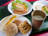 健康面包早餐